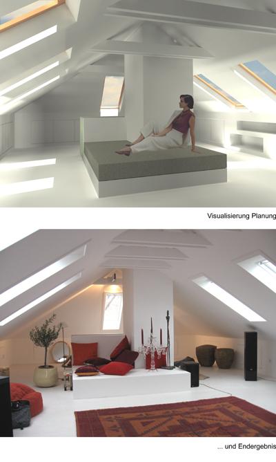 Raum Optisch Vergrößern matthias braun architekt dachgeschossausbau ahe